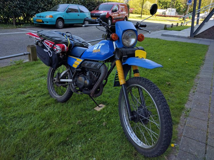 Two day camping trip on a 50CC Yamaha dt50mx. Who says you need big bikes for big adventures? http://ift.tt/1SYUgnR