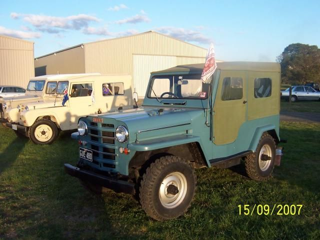Vintage Nissan patrol