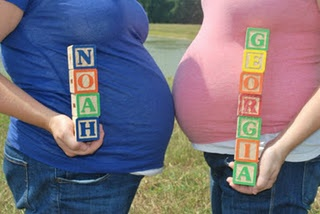 Sisters Maternity Pic