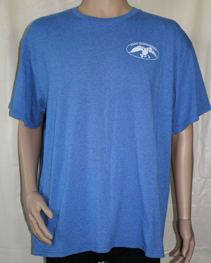 Authentic Duck Commander Blue XL T-shirt #DuckCommander #GraphicTee
