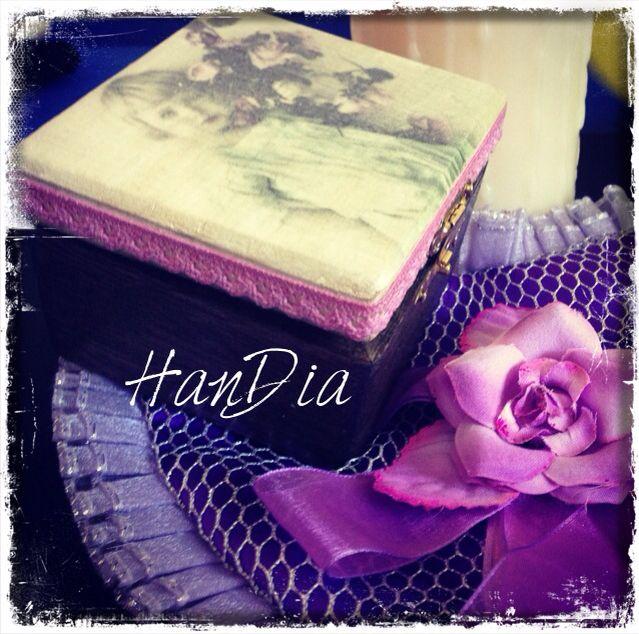 Decoupage Handmade HanDia Made Small box