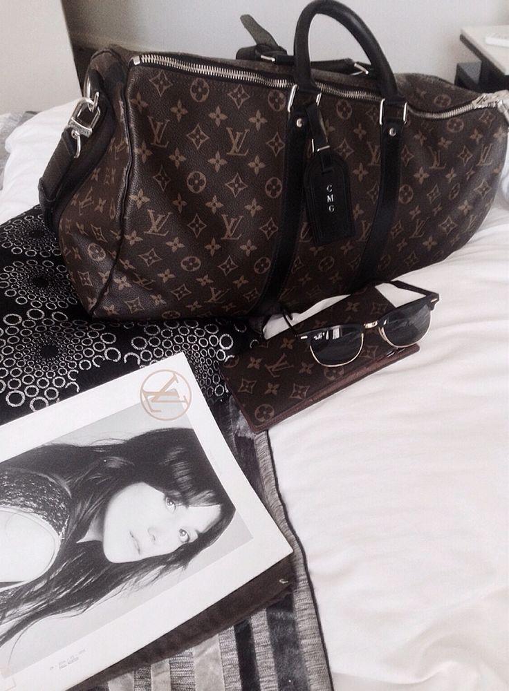 Louis Vuitton Keepall Macassar