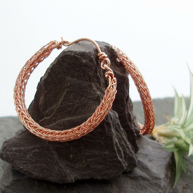 Knitting With Metal Wire : Best images about tutorials ideas viking knit on