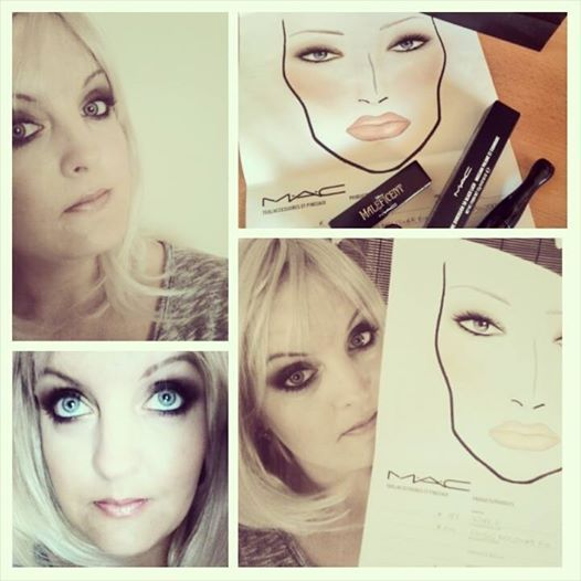 Maleficent, MAC, make up