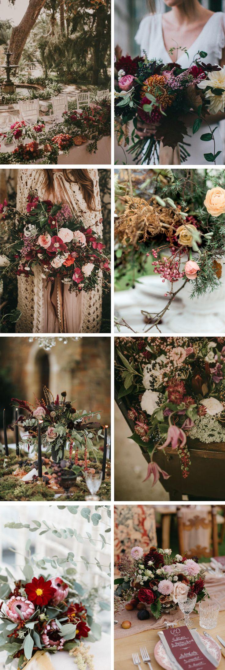 Jewel Tone and Gold Autumn Wedding Inspiration