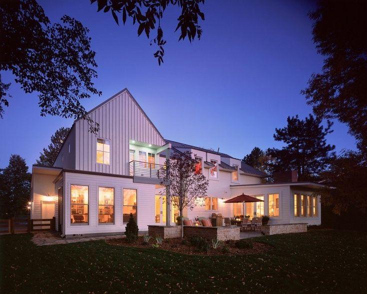 Традиционный, классический фермерский дом - Дизайн интерьеров   Идеи вашего дома…