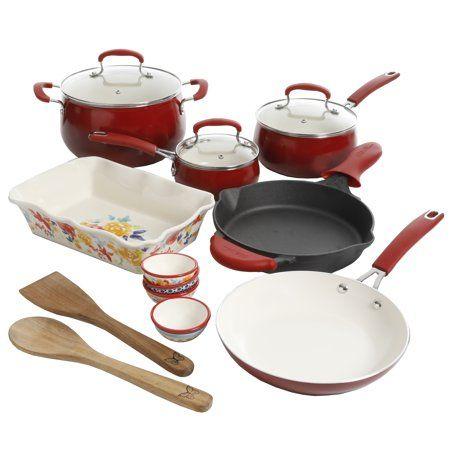 Home Cookware Set Ceramic Bakeware Cast Iron Cookware