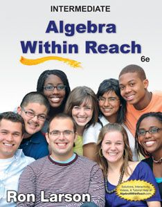 Intermediate Algebra Within Reach | Easy Access Study Guide