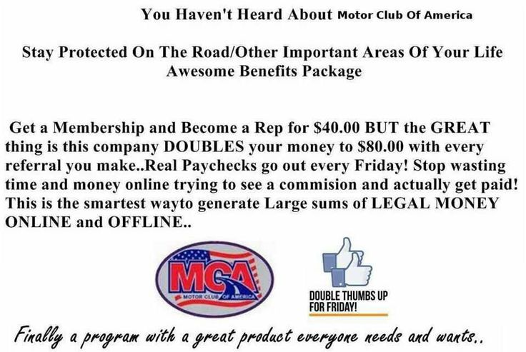 26 best motor club of america images on pinterest motors for Allstate motor club vs aaa