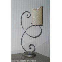Wrought Iron Abat Jour Lamp. Customize Realizations. 715