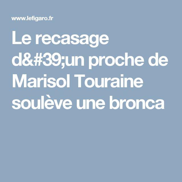 Le recasage d'un proche de Marisol Touraine soulève une bronca