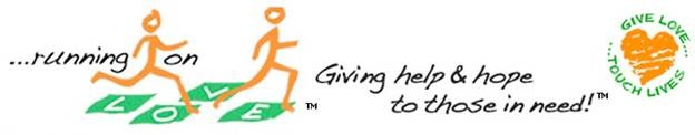 Running on Love -- new sponsor of Launching Your Dreams Book Launch!    Thanks Lori Sperber!