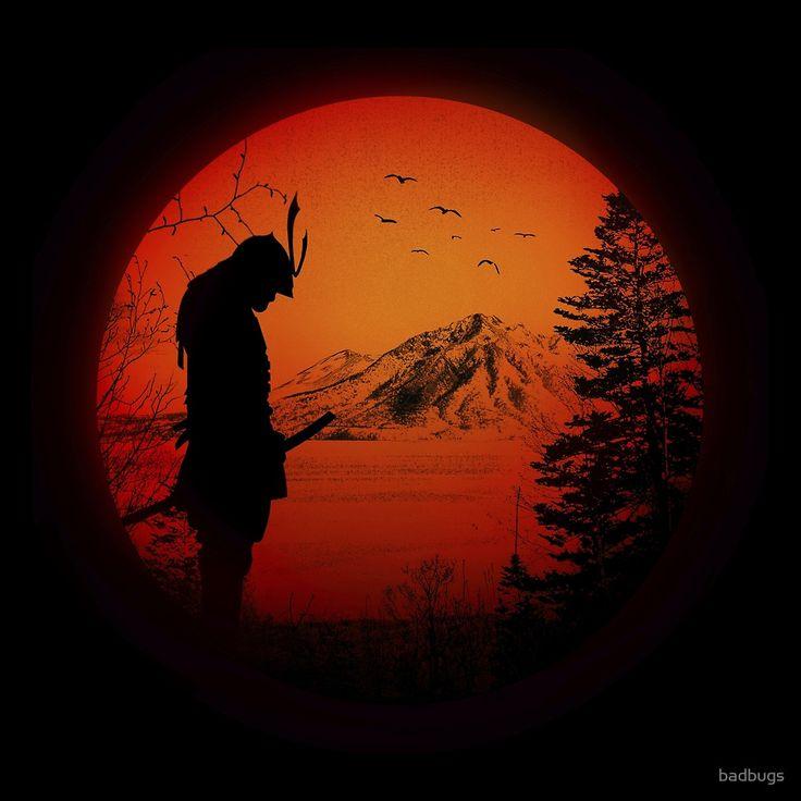 «My Love Japan / Samurai warrior / Ninja / Katana» de badbugs