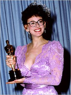 "Marlee Matlin 1986.  Best Actress Oscar winner for her work on the film ""Children of a Lesser God"""
