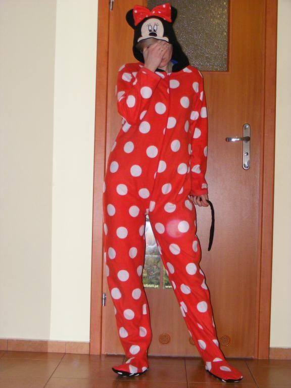 MYSZKA Miki piżama damska pajacyk stroj 40-42 za jedyne 24,90 :-)