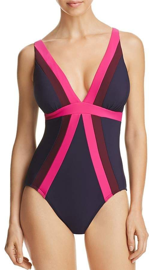 5814c464450 Miraclesuit Spectra Trilogy One Piece Swimsuit. 2018 swim trends. This suit  makes you look 10lbs lighter instantly. Super comfortable & classy.