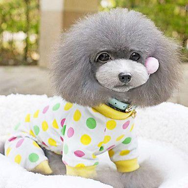 Cartoon Print Dress til kæledyr Hunde (assorterede farver, størrelser) – DKK kr. 110