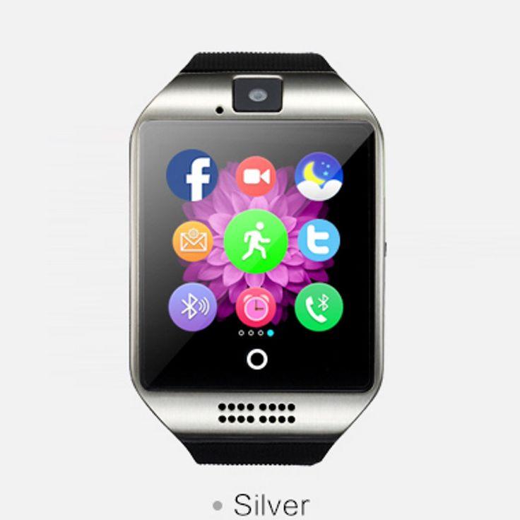 Neue ankunft Q18 intelligente elektronik tragbares gerät bluetooth smart uhr mit 1.3MP kamera 500 mAH smartwatch für android //Price: $US $35.75 & FREE Shipping //     #smartuhren