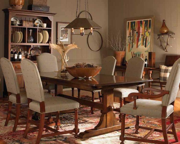 Bob Timberlake Dining Table Rustic Decor Pinterest