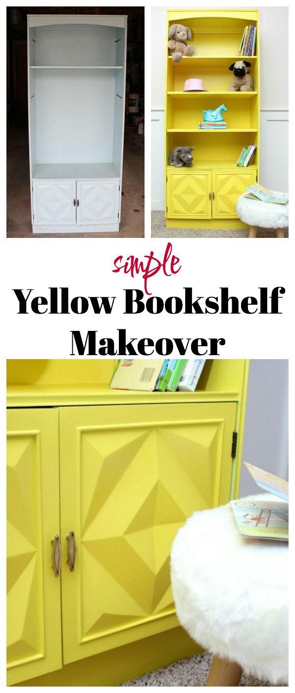 209 besten furniture makeovers bilder auf pinterest for Schreibtisch yellow