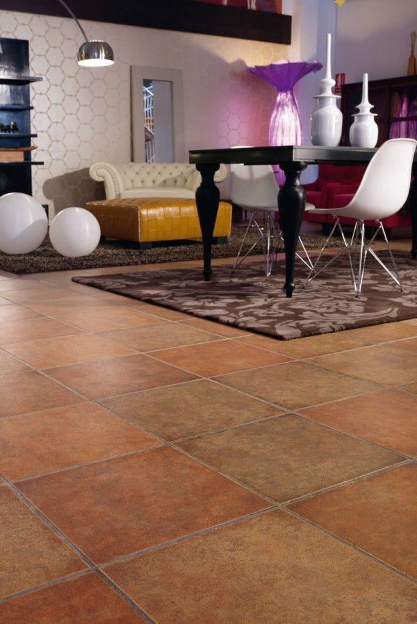 piso esmaltado destonalizado