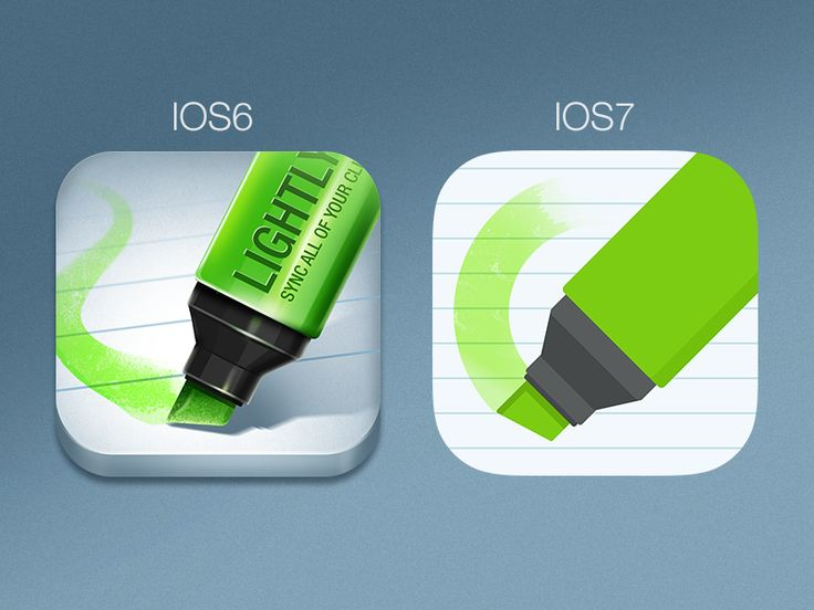 Lightly icon redesign for ios7 (in progress) by Jay Kwong