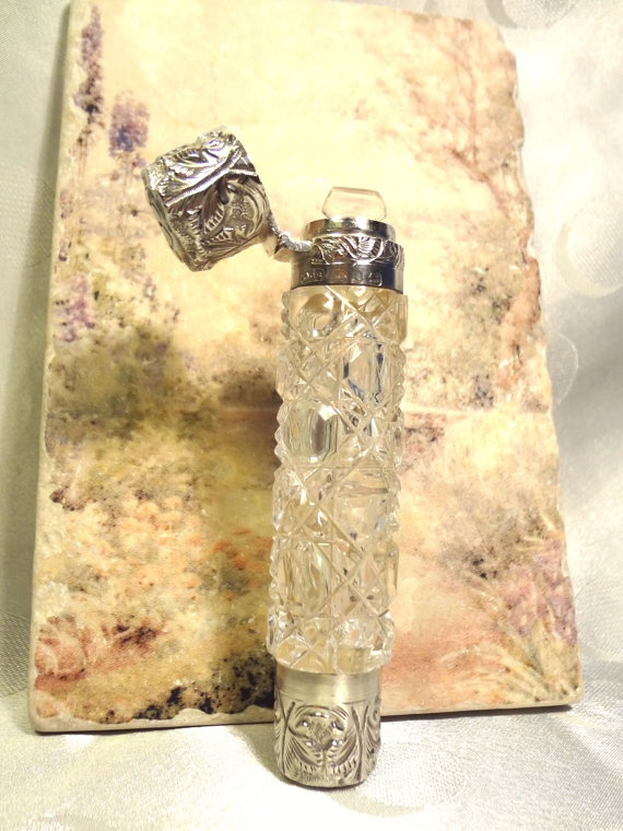 Antique Perfume & Vinaigrette two Chamber by EstateVintTreasures, $195.00
