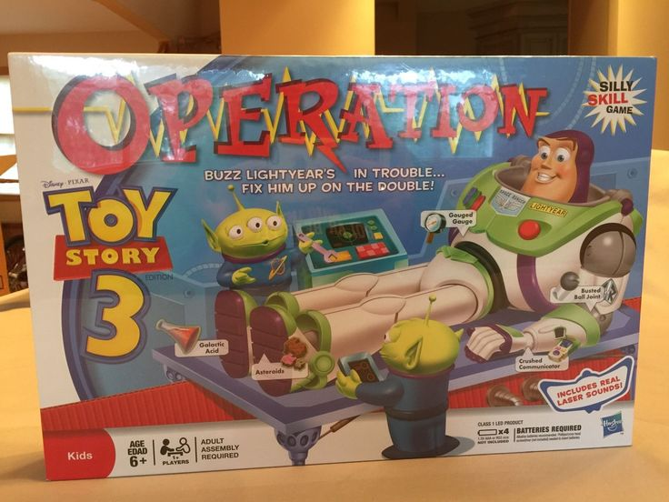 Toy Story 3 Operation Game Hasbro 2009 Brand New & Sealed