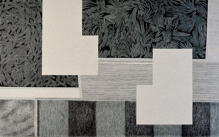 diptych landscape1 / Dominique Lutringer #ART #Contemporary ART