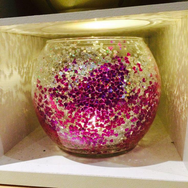 Purple Heart Centerpiece