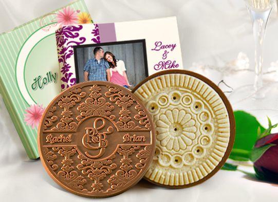 Custom Wedding 1 Cookie Box