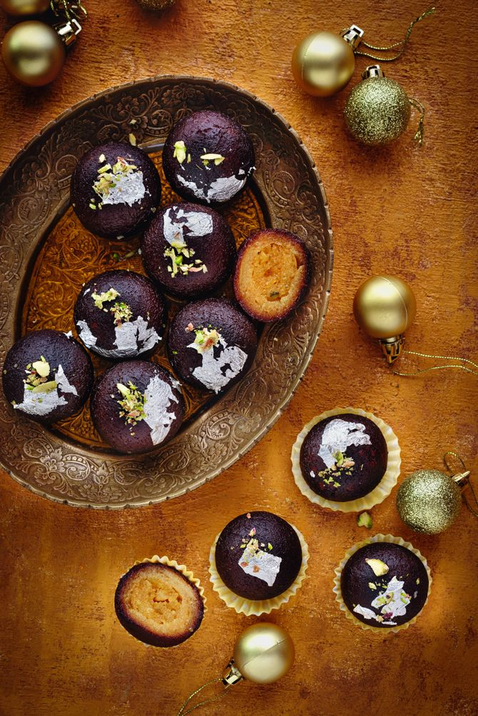 Kala Jamun is a tasty royal treat of dryfruit stuffed Chenna/paneer-khowa balls deep fried in ghee, dipped into saffron flavoured sugar syrup. Best Recipe you will ever need