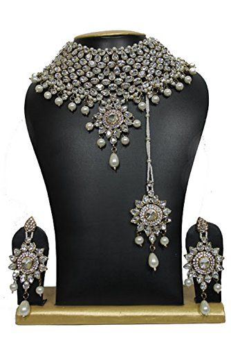 Bollywood Traditional Crystal Pearls Stone Jewellery Neck... https://www.amazon.ca/dp/B01M3YJ819/ref=cm_sw_r_pi_dp_x_ovRNybTDTEQA4