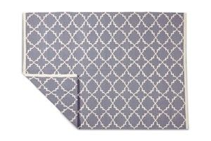Swoon Editions Medium rug, contemporary style in Smoke - £169