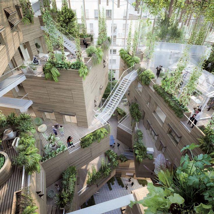 いいね!14.3千件、コメント121件 ― MVRDVさん(@mvrdv)のInstagramアカウント: 「We're happy to share our visions for Paris' 'Inventons la Metropole', a competition to reinvent 55…」