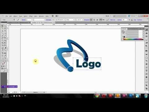 how to create 3d logo in adobe photoshop cs6