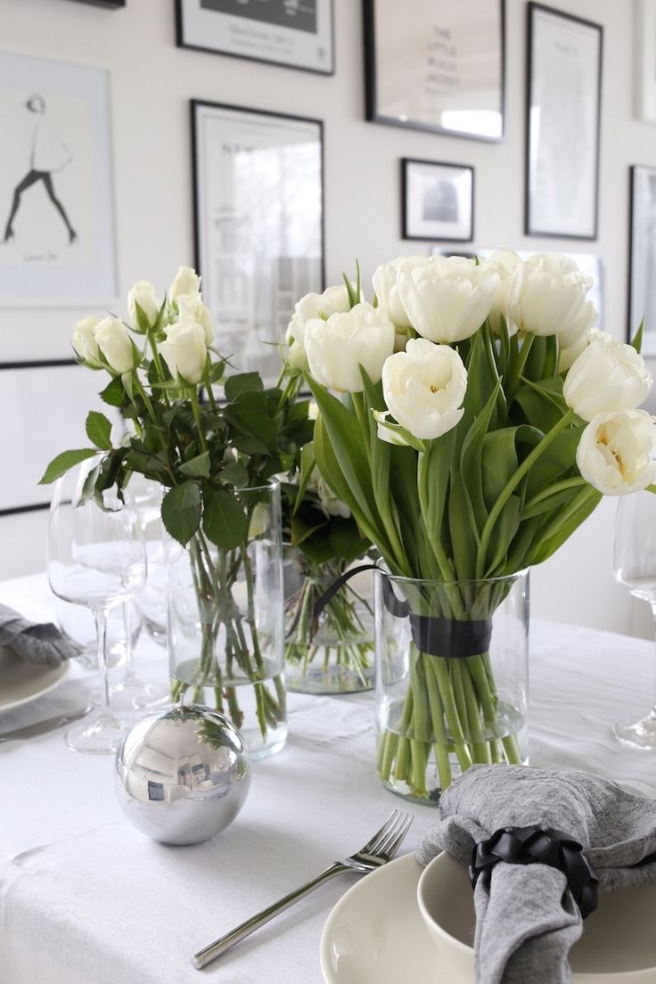 Homevialaura | Inspiration for Easter and spring table setting | Balmuir Piemonte crystal wine glasses | Balmuir Melange kitchen linen