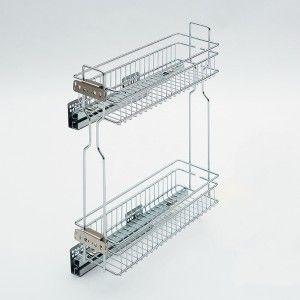 Dvojkoš boční Komfort do 15 cm skříńky - pravý