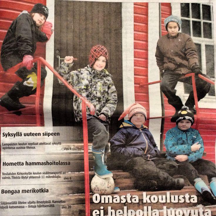 Boys in magazine