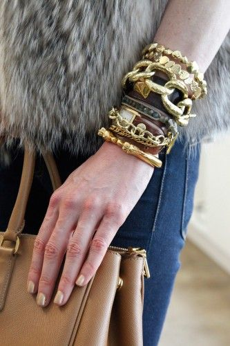 love the layering and texture...intense visual impact and still completely wearable.
