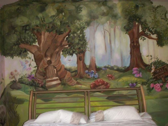 Nursery Theme Enchanted Forest Whimsical Woodlands