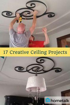 30 idées de plafond créatives qui transformeront n'importe quelle pièce
