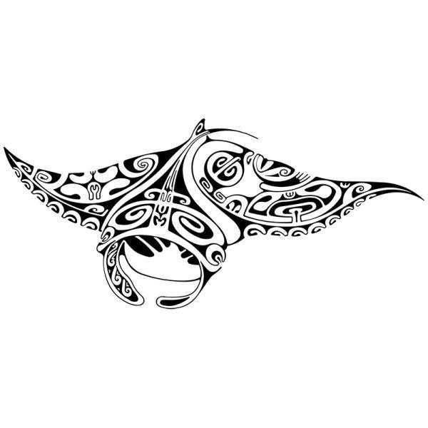 maori tatouages raie tortue et requin polynesien raie tortue requin