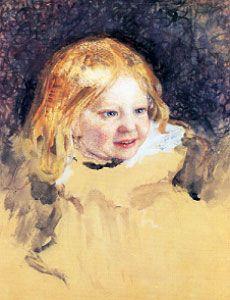 Akseli Gallen-Kallela: The artist's daughter Marjatta