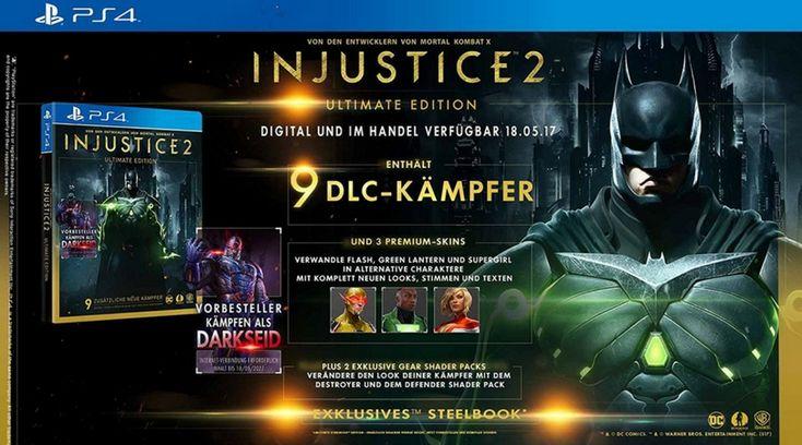 [Vorbestellen]  Injustice 2  Ultimate Edition inkl Steelbook [PlayStation 4 und Xbox One]