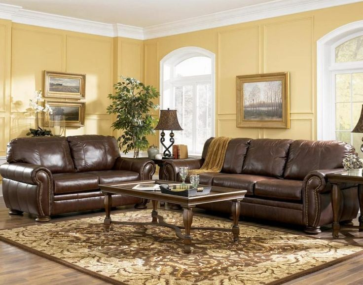 17 Best Ideas About Brown Leather Couches On Pinterest | Leather