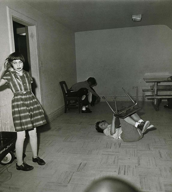 """""""After one look at this planet any visitor from outer space would say 'I want to see the manager.""""  -William S. Burroughs  -photo by Diane Arbus"""