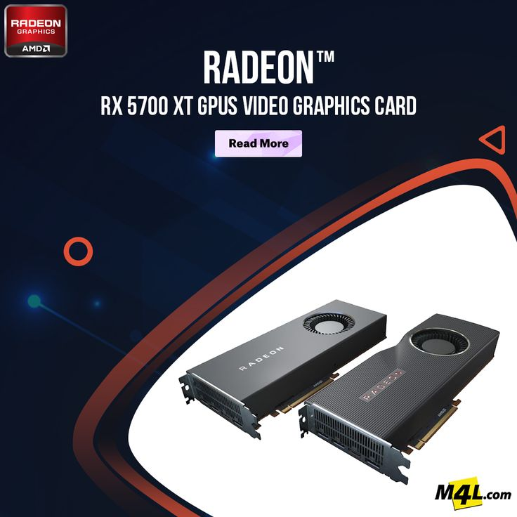 RADEON™ RX 5700 XT GPUS VIDEO GRAPHICS CARD