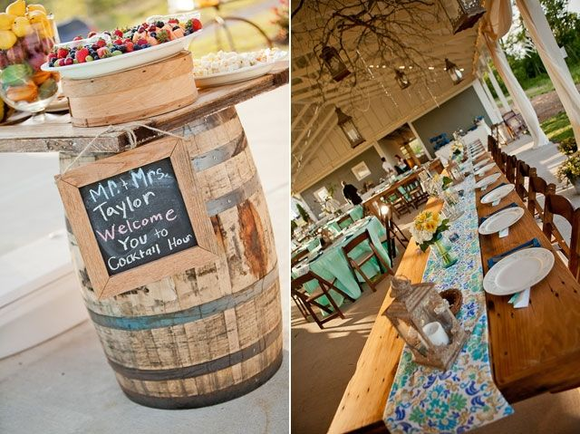 Several Reasons Why People Love To Use Farm Wedding Ideas Table Decoration