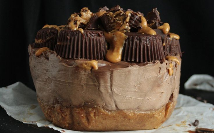 <p>If you love peanut butter cups, you will swoon over this cheesecake. </p>
